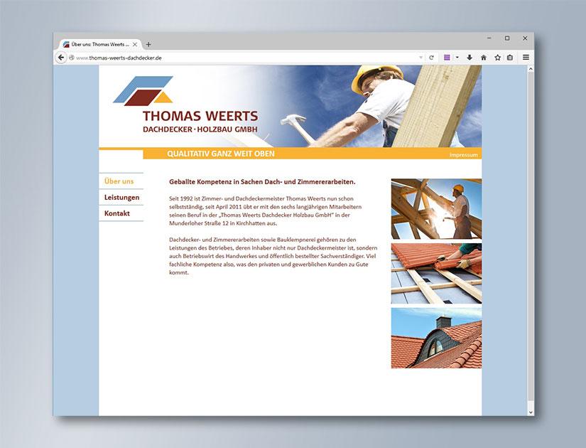 Internet: www.thomas-weerts-dachdecker.de